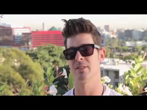 Robin Thicke on Falling In Love with Paula Patton & Her Influence