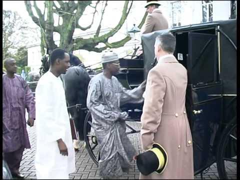 Présentation Lettres De Créances De L'ambassadeur Du Niger Au Pays Bas