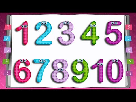 Learn to Write Numbers | 10 Little Numbers Song for Children