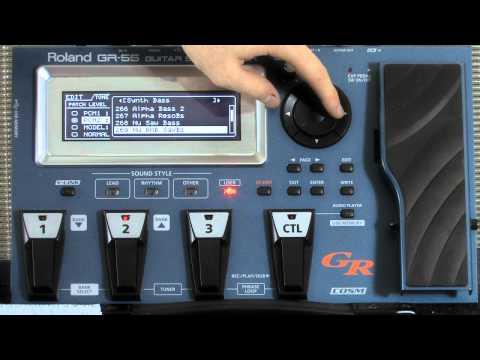 Roland GR-55 Patch Edit Tutorial Part 1 - PCM Synth Sounds