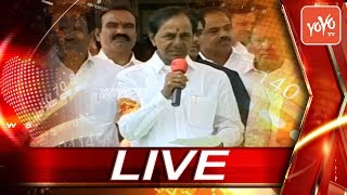 CM KCR Live |  CM KCR Inaugurates 50-Bed Hospital In Toopran | Telangana News