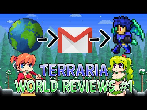 Terraria 1.2.4 World Reviews For Ios/Android Ep 1. 2016