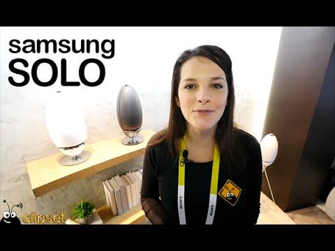 Samsung Solo speakers preview CES en espa�ol