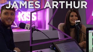 James Arthur talks Naked, Christmas, New Album + More