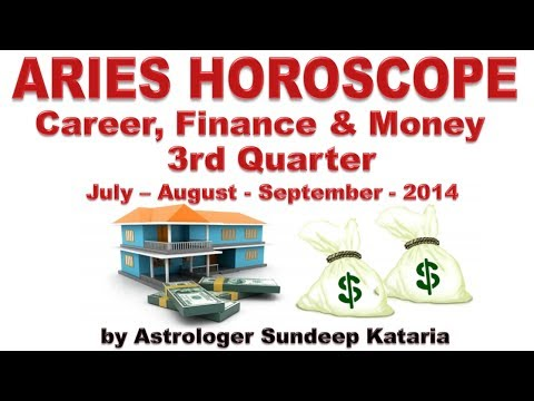 Aries Predictions July 2014, August 2014, September 2014 Career, Finance & Money