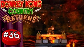 Donkey Kong Country Returns, Part 36: Vexing Volcano  - Button Jam