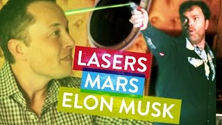 Elon Musk Captured by Rainn Wilson! - Metaphysical Milkshake