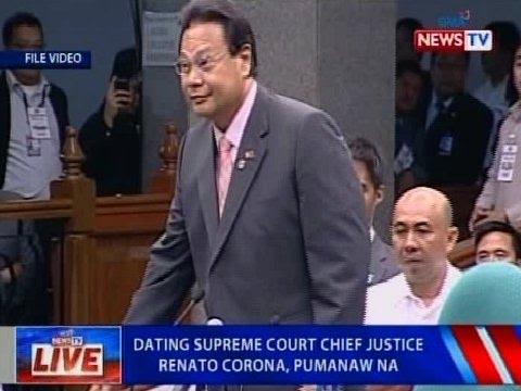 NTVL: Ex-Supreme Court Chief Justice Renato Corona, pumanaw na