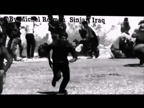 Desperate Yazidi trapped on Mt Sinjar, IRAQ [Extreme Slow Montage IV]