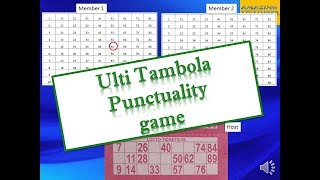 """ULTI TAMBOLA"" Punctuality game for ladies kitty party // kitty party housie or bingo game"