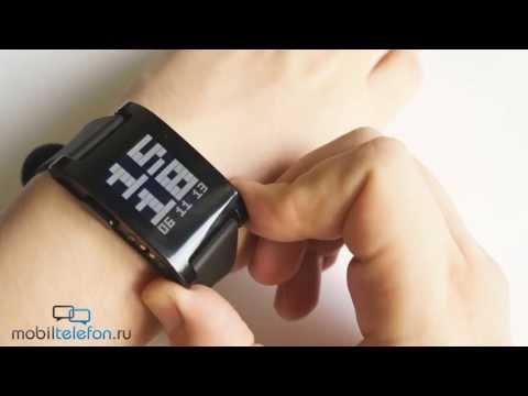 Обзор умных часов Pebble Watch с Kickstarter для iPhone и Android-смартфонов