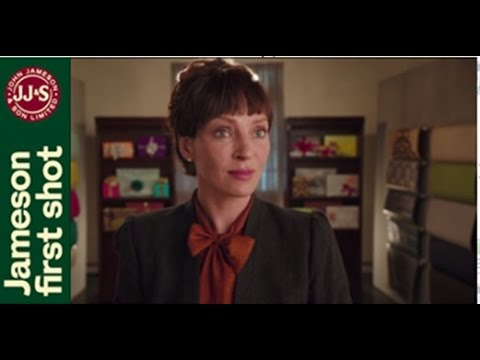 Uma Thurman, the Gift Jameson First Shot 2014 video