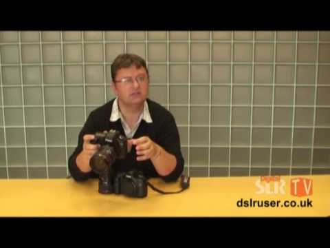 Canon EOS 5D Mark II hands on EXCLUSIVE - EOS 5D comparison