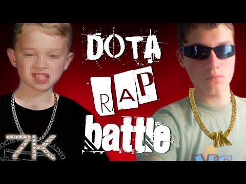 7K MMR vs 1K MMR - DOTA RAP BATTLE
