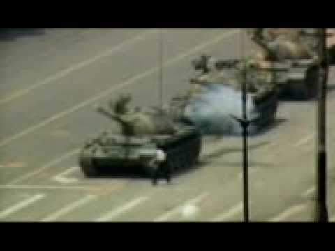 Tiananmen massacre documentary-The tank man