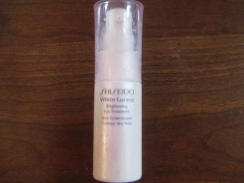 Review Shisheido Brightening Eye Cream