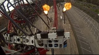 [HD] X2 POV - On-ride & Off-ride X2 Footage - Six Flags Magic Mountain