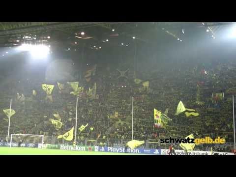 Dortmund - Arsenal Atmosphere-Stimmung 0-1 BVB - Arsenal F.C. - Borussia Westfalenstadion