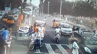 Bike accident in Vellore Tamilnadu!!!