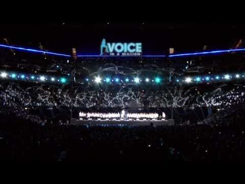 7,500 children perform Sweet Child of Mine- Voice in a Million-Live at the O2.mov