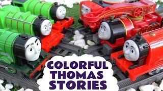 Thomas and Friends Colorful Big World Big Adventures Toy Train Stories TT4U