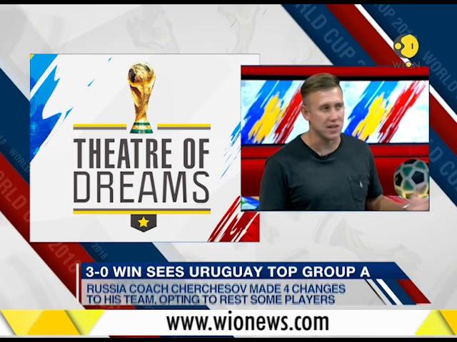 Theatre of Dreams: Uruguay crash Russia's party