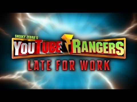 ¿Qué sucede cuando uno de los Power Rangers no asiste al trabajo?