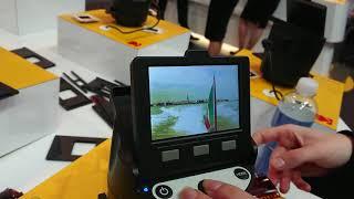 CES 2018 Kodak Scanza Digital Film Scanner How to use
