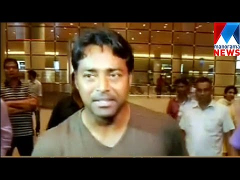 Leander Paes will play in mens single | Manorama News