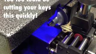 Cutting keys quickly on your QuickSilver