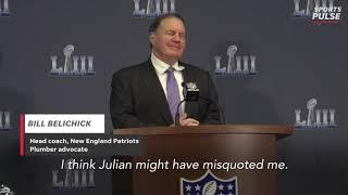 Super Bowl MVP Edelman shares Belichick story, Patriots coach defends plumbers