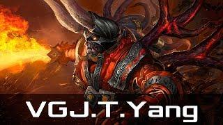 VGJ.T.Yang — Doom, Offlane (Jul 17, 2018) | Dota 2 patch 7.18 gameplay