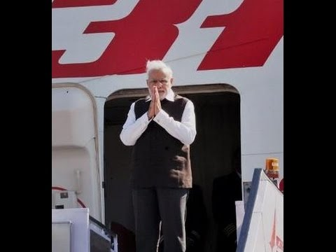 PM Narendra Modi arrives in Dhaka