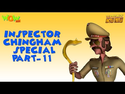 Inspector Chingam Special - Part 11 - Motu Patlu Compilation As seen on Nickelodeon thumbnail