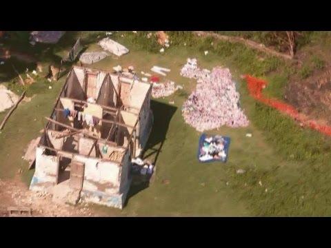 Crews reach damaged areas as death toll rises in Haiti