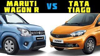 Maruti Wagon R vs Tata Tiago-Who is Best? #2019Wagon R#