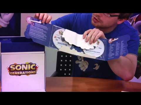 Sonic Generations - Collector's Edition Unboxing