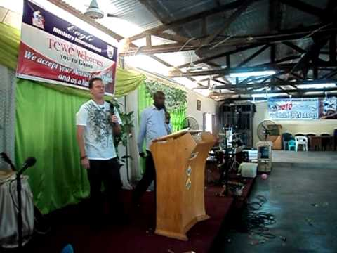Rev Joe Cutler Ministering 1