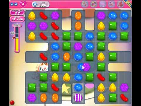 Candy Crush Saga Level 203 - 3 Star