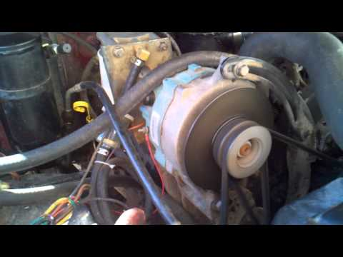 1984 Ford Banks Turbo 6.9l idi vs 460 gas
