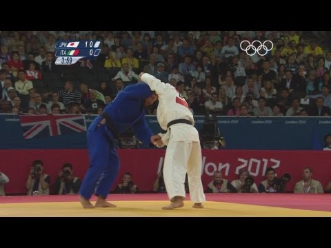 Galstyan (RUS) & Hiraoka (JPN) Win Men's -60kg Judo Semi-Finals - London 2012 Olympics Image 1