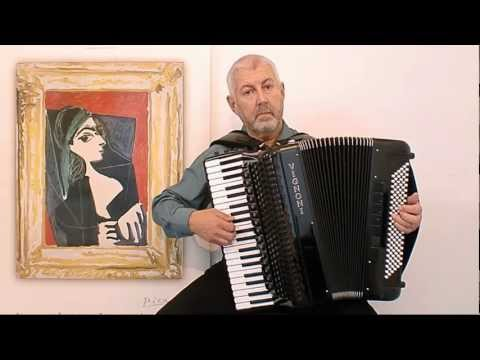 Erik Satie Gnossienne 3- Jo Brunenberg - Classical accordion music