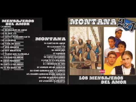 MONTANA & LOS MENSAJEROS DEL AMOR CD ENTERO COMPLETO