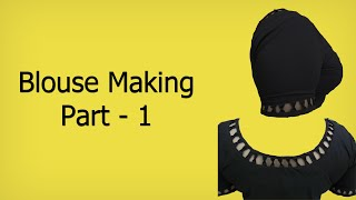 Download Simple Designer Blouse: 1  Marking & Cutting (English Subtitle) 3Gp Mp4