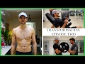 BODY TRANSFORMATION EPISODE TWO | BACK AND BICEPS | GYM WITH JIM
