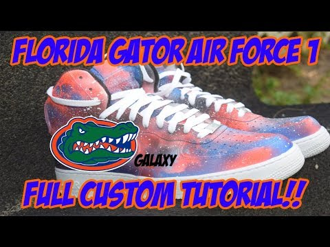 CUSTOM FLORIDA GATOR AIR FORCE 1 GALAXY!! [FULL TUTORIAL!]