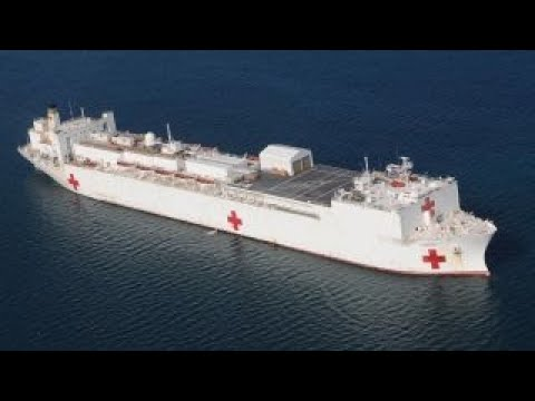 Navy hospital ship deployed to Puerto Rico