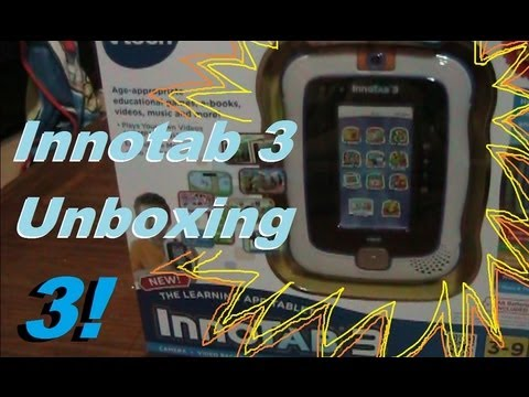 Innotab 3 Unboxing and Initial Impressions