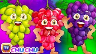 The Grape Song (SINGLE) | Learn Fruits for Kids | Educational Songs & Nursery Rhymes | ChuChu TV