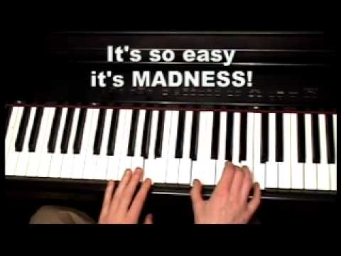 INGENIOUS way to learn Piano & Keyboard chords - 200 video piano lessons Music Videos